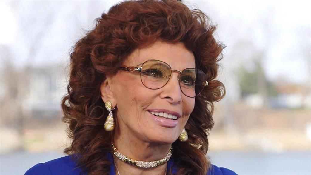 Sophia Loren è una fan di Papa Francesco!
