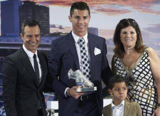 Cristiano Ronaldo Mendez e la mamma