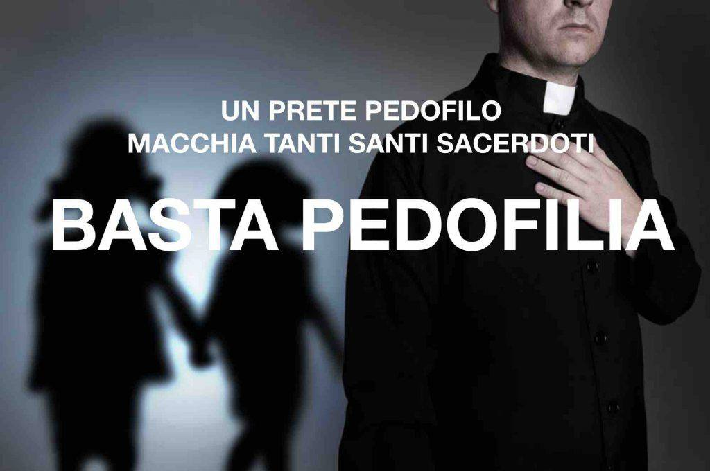 basta pedofilia, prete pedofilo abusa bambina 10 anni