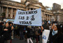 No all'aborto legale in argentina