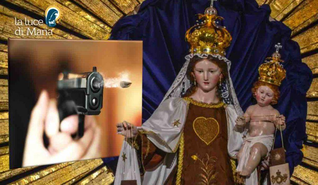 Madonna del Carmelo - proiettile