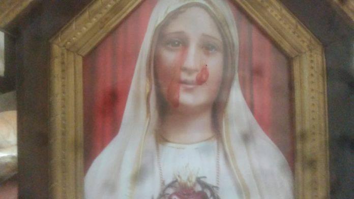 Nicaragua: la Madonna piange sangue!