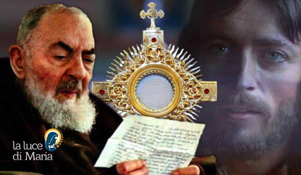 Padre pio Gesù Eucarestia