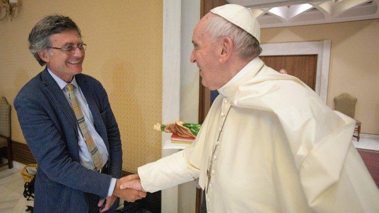 Paolo Ruffini è diventato il primo laico a guidare un Dicastero vaticano