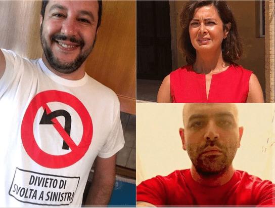 Iniziativa Maglietta Rossa: l'adesione del PD e la posizione di Salvini