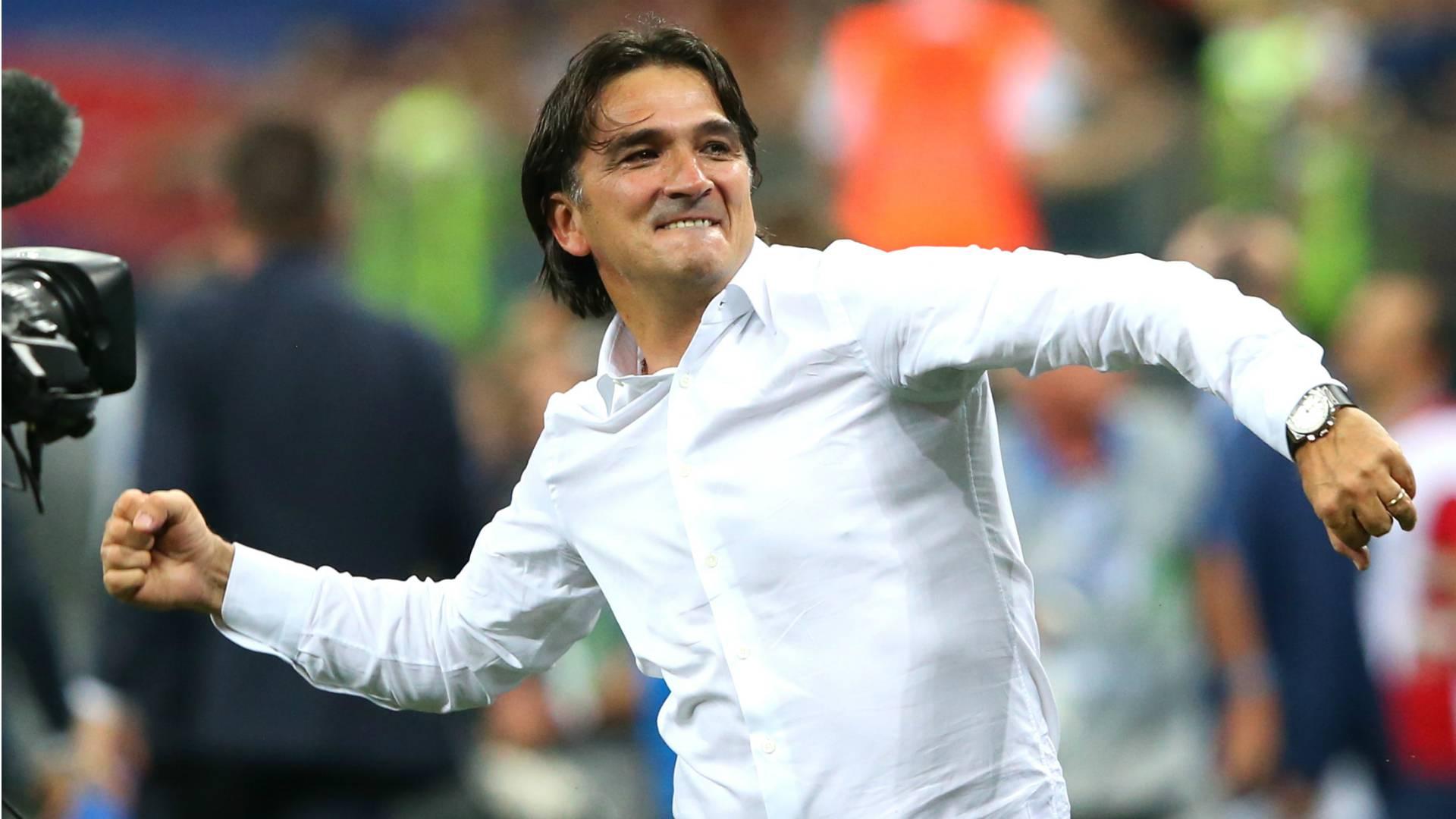 Zlatko Dalic, allenatore della Croazia, ha il Rosario sempre in tasca!