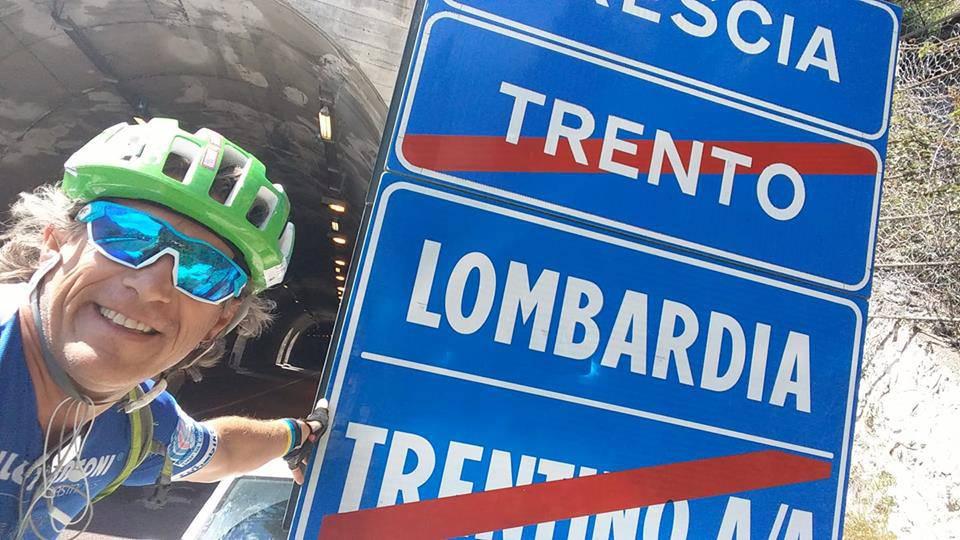 Simone Broggi, il papà che combatte il neuroblastoma pedalando