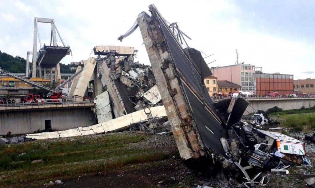 Ponte Morandi: alcuni musulmani gioiscono per la tragedia di Genova sui social