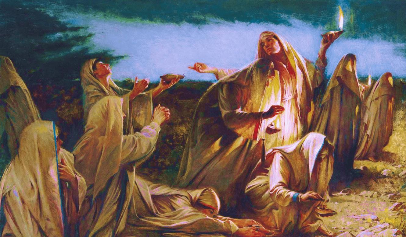 Vangelo del giorno secondo Matteo 25, 1-13 - audio - La Luce di Maria