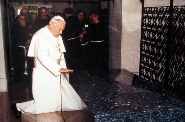 Giovanni Paolo II - Padre Pio