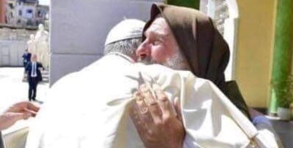 Papa e Fratel Biagio