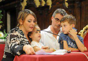 Il miracolo di Amanda, la testimonianza della famiglia - Foto Papaboys