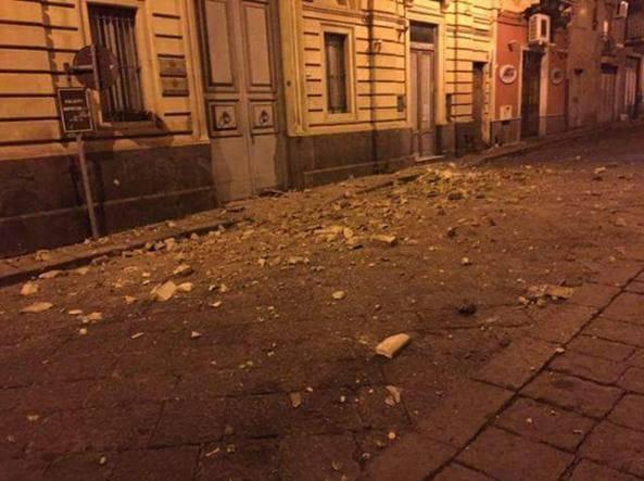 Terremoto a Catania