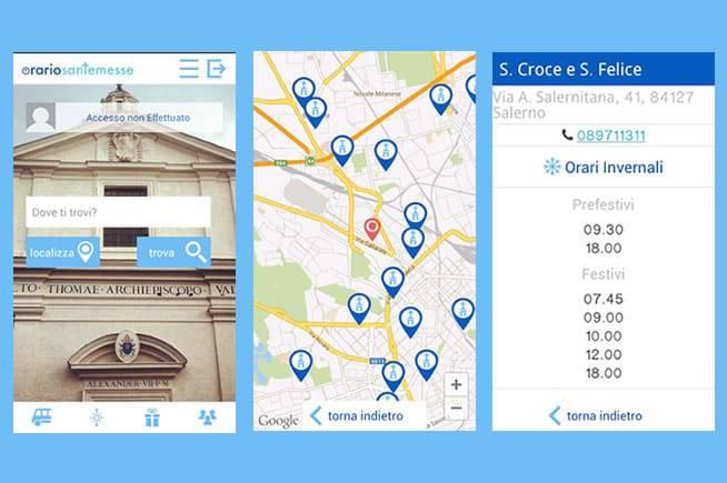 L'app per conoscere gli orari delle Messe