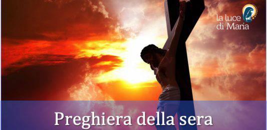 preghiera della sera