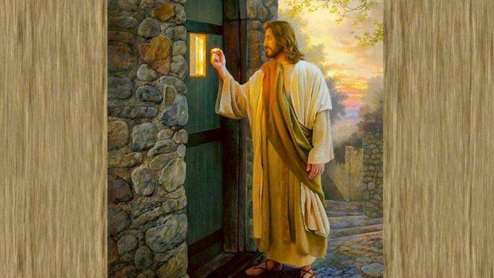Gesù bussa