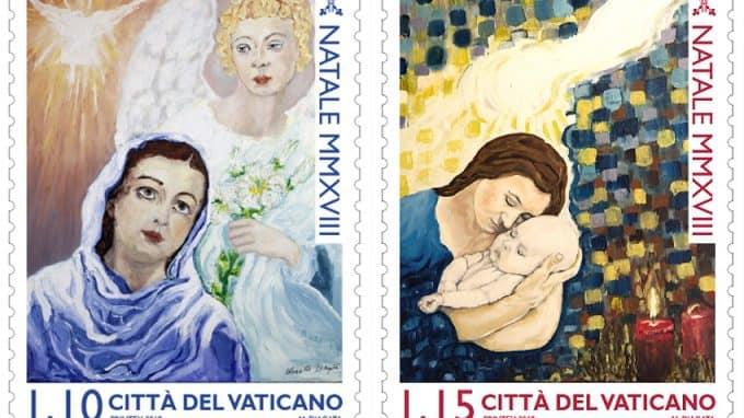 Detenuto disegna francobolli per il Vaticano