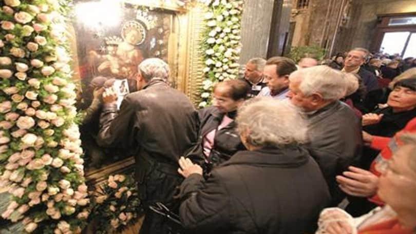 Bacio alla Madonna di Pompei