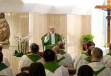 Papa Francesco chiede ai fedeli di pensare alla fine