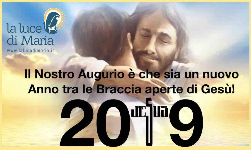 Buon Anno 2019 Luce di Maria