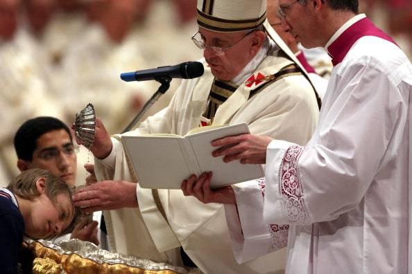 Battesimo Papa Francesco