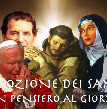 devozione dei santi, cosa ci dicono oggi