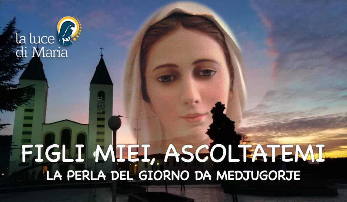 Medjugorje: Le Perle di Maria di oggi 9 febbraio 2019, per noi suoi figli