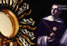 preghiera santissimo sacramento San Tommaso d'aquino