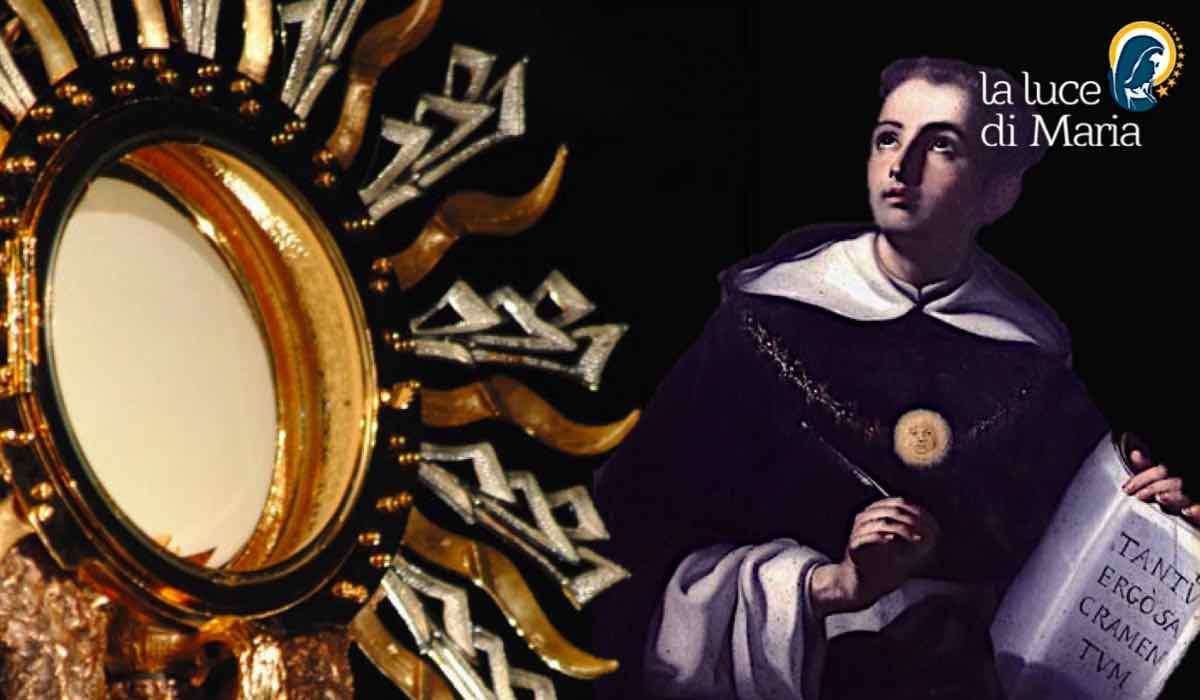 Devozione al santissimo sacramento preghiera di san tommaso for Di tommaso arredamenti ostia