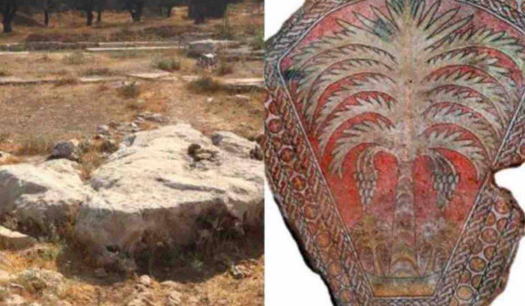 maria mosaico kathisma