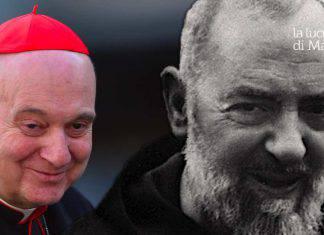 Padre Pio preghiera mons. Comastri