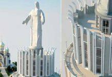 Statua Cristo Russia