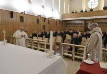 """papa Francesco: """"Grazie, prega per noi peccatori"""""""