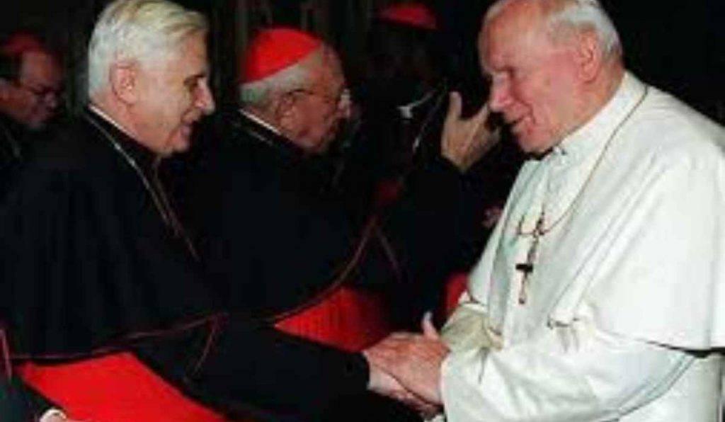 Benedetto XVI - Giovanni Paolo II