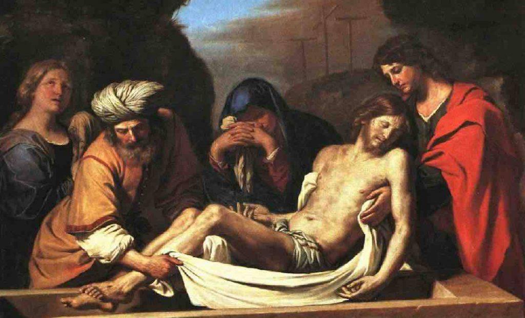Deposizione di Cristo - Guercino