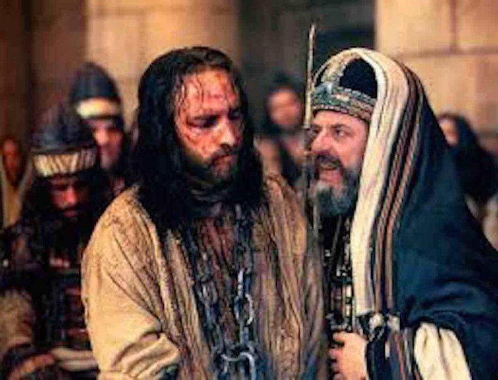passione Gesù e il Sommo Sacerdote