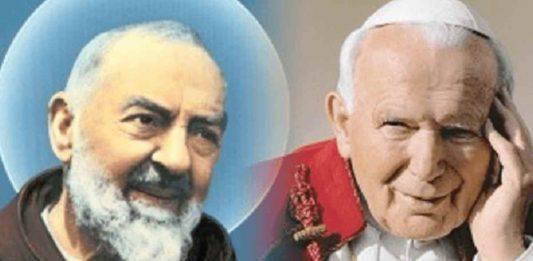 Padre Pio - Giovanni Paolo II (2)