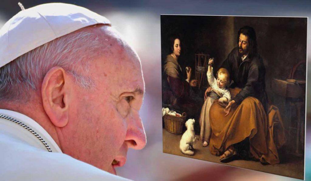 papa francesco gesù bambino vita