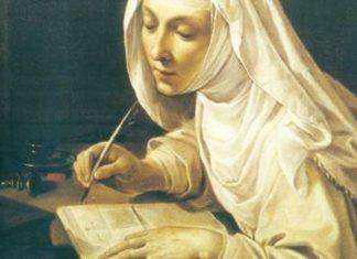 Santa Caterina da Siena mistica