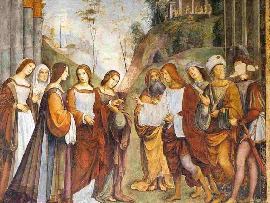 Valeriano e Cecilia matrimonio