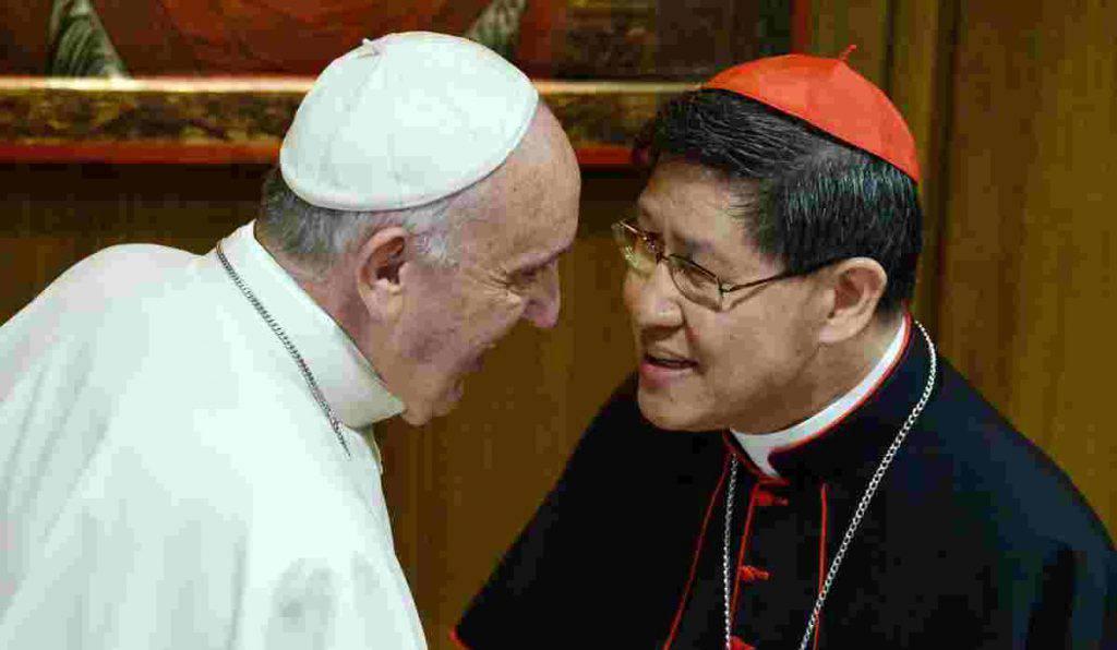 cardinal tagle papa francesco
