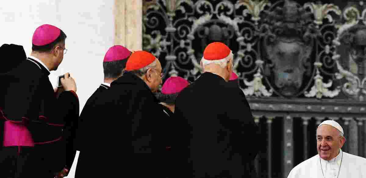 cardinali papa francesco riunione
