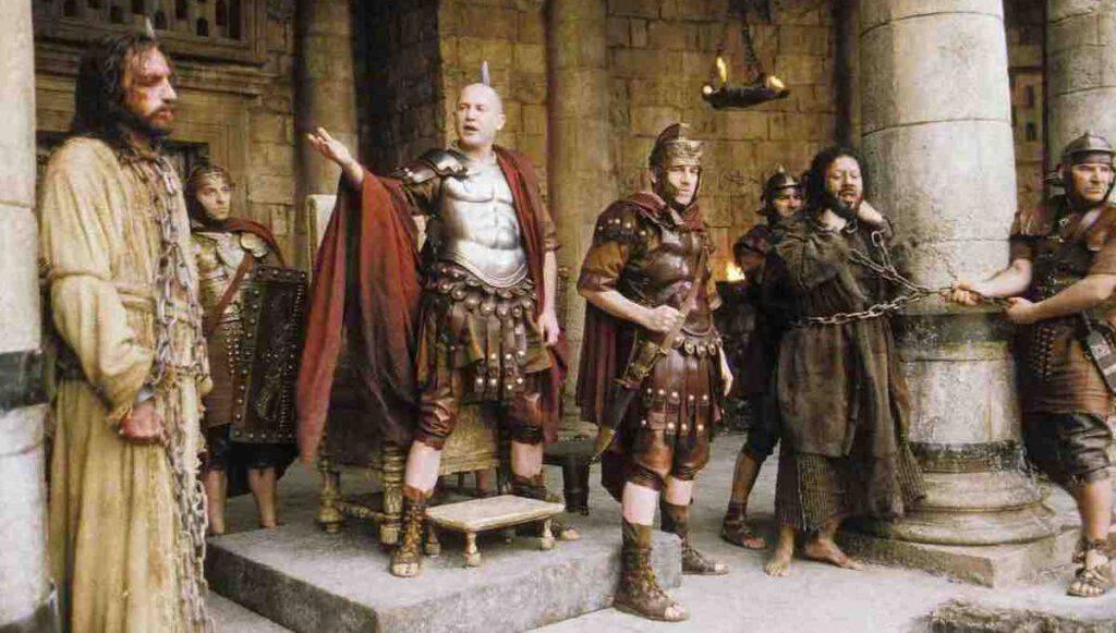 Vangelo passione Gesù e Pilato