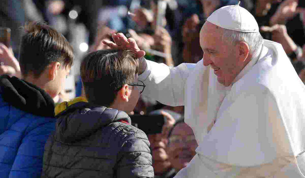 papa francesco giovani