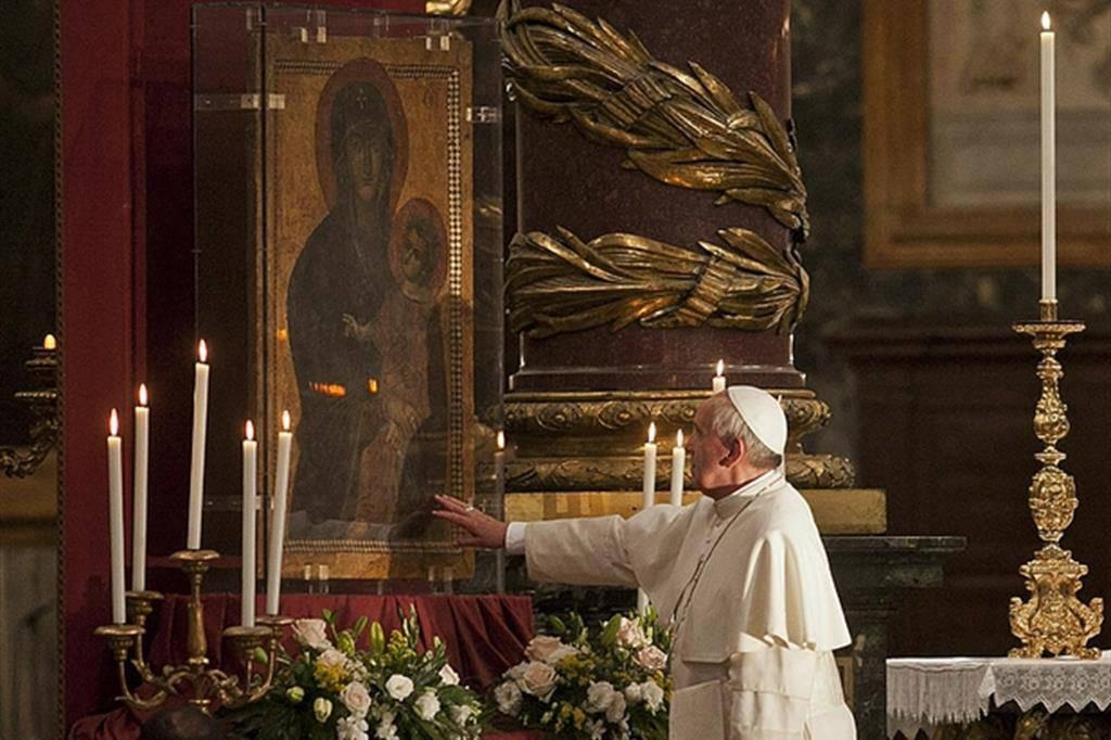 papa francesco santa maria maggiore