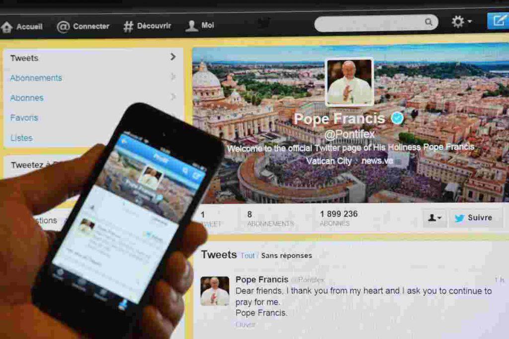 tweet papa francesco operatrici umanitarie
