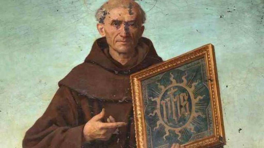 San Bernardino da Siena frate