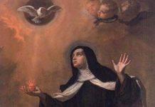 Santa Maria Maddalena dei Pazzi monaca