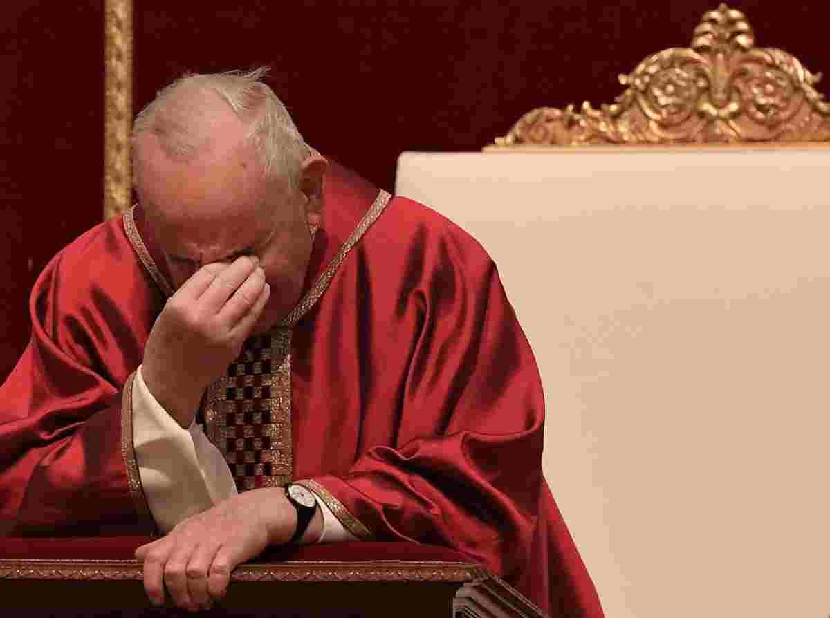 preghiera papa francesco