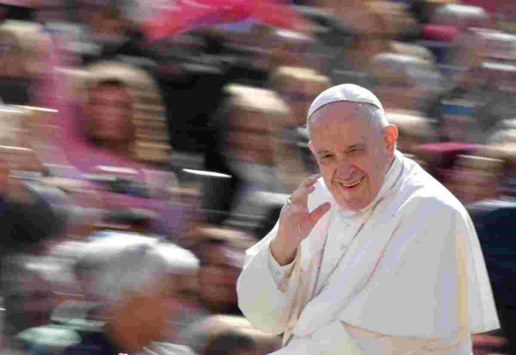 papa francesco albano laziale visita